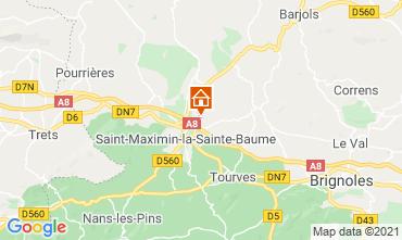 Mappa Saint Maximin la Sainte Baume Villa  112385