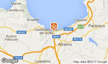 Mappa Castellammare del Golfo Villa  94839