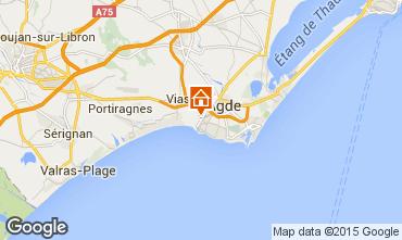 Mappa Agde Casa mobile 11169