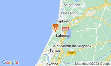 Mappa Labenne Océan Casa mobile 72176