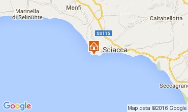 Mappa Sciacca Appartamento 100665