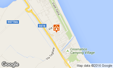 Mappa Cervia Appartamento 102173