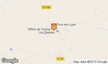 Mappa Les Saisies Monolocale 64146