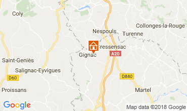 Mappa Rocamadour Casa 115550