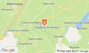 Mappa Esparron-de-Verdon Villa  108016