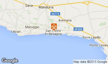 Mappa Manduria Appartamento 63845