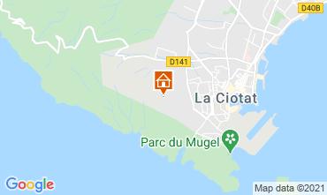 Mappa La Ciotat Agriturismo 113946