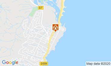 Mappa Fréjus Appartamento 107365