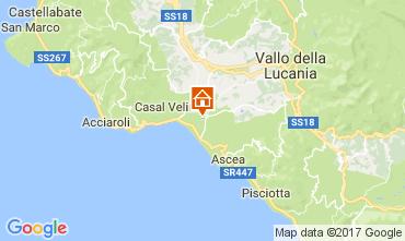 Mappa Ascea Appartamento 109959