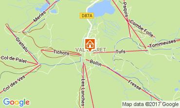 Mappa Tignes Appartamento 39781