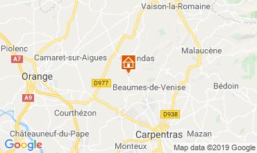 Mappa Vaison la Romaine Appartamento 119300