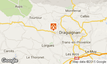 Mappa Draguignan Villa  12422