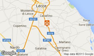 Mappa Lecce Appartamento 57535