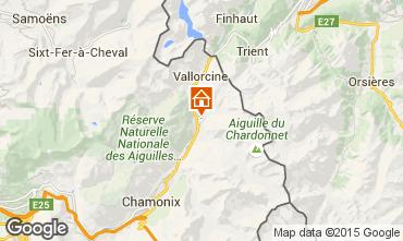 Mappa Chamonix Mont-Blanc (Monte Bianco) Chalet 721