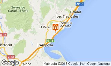 Mappa La Ametlla de Mar Chalet 102064
