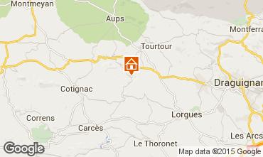 Mappa Les Salles sur Verdon B&B 70647