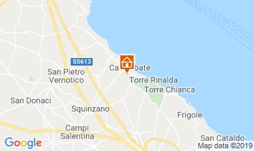 Mappa Santa Cesarea Terme Villa  40736