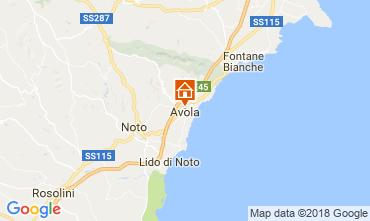 Mappa Avola Appartamento 115428