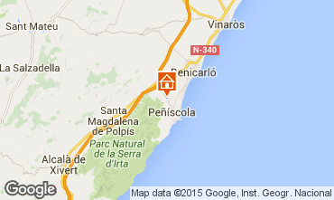 Mappa Peñíscola Villa  74608