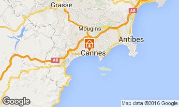 Mappa Cannes Appartamento 100323