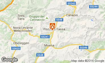 Mappa Vigo di Fassa Appartamento 59555