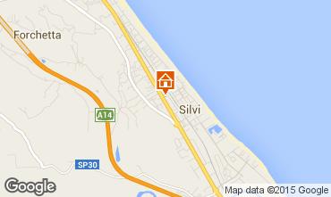 Mappa Silvi Marina Appartamento 81417