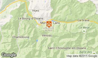 Mappa Les 2 Alpes Appartamento 49434
