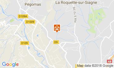 Mappa Mandelieu la Napoule Casa 112877
