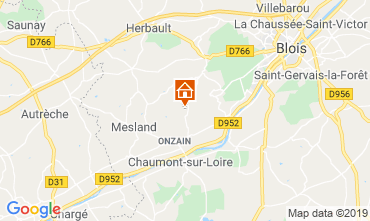 Mappa Blois Casa mobile 117416