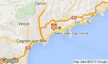 Mappa Nizza Monolocale 21996