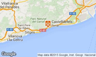 Mappa Barcellona Villa  95047