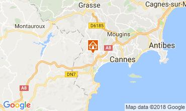 Mappa Cannes Villa  114638