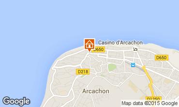 Mappa Arcachon Appartamento 61328
