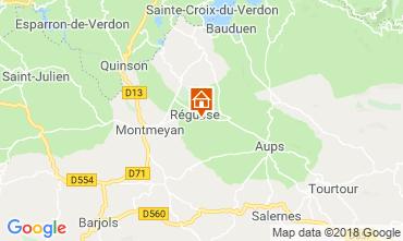 Mappa Régusse Villa  116818