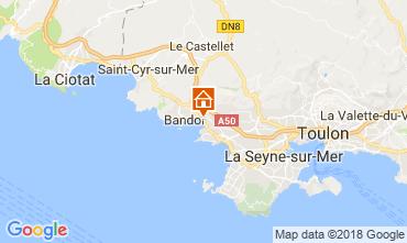 Mappa Sanary Monolocale 114751