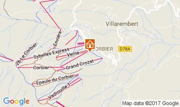 Mappa Le Corbier Monolocale 102014