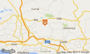 Mappa Loulé Casa 54658