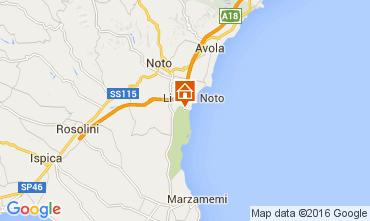 Mappa Noto Villa  105536