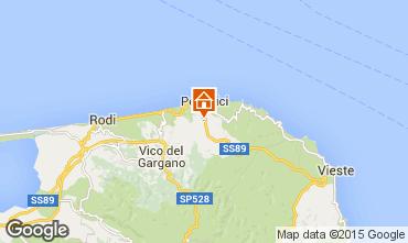 Mappa Peschici Appartamento 32145