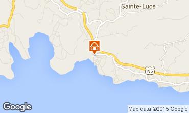 Mappa Sainte Luce Appartamento 100629
