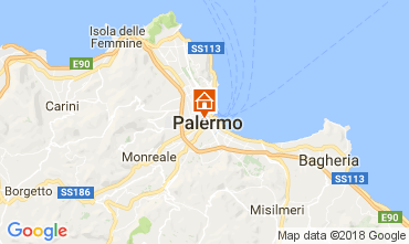 Mappa Palermo Appartamento 113101