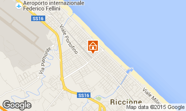 Mappa Riccione Appartamento 76435