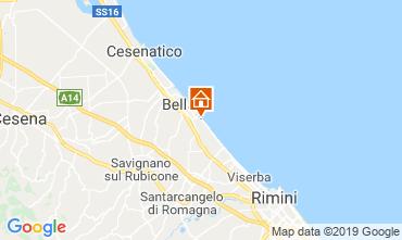 Mappa Bellaria Igea Marina Appartamento 81806