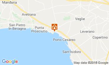 Mappa Porto Cesareo B&B 114377