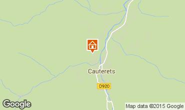 Mappa Cauterets Appartamento 4090
