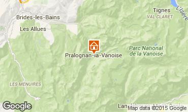 Mappa Pralognan la Vanoise Appartamento 61166