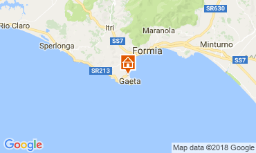 Mappa Gaeta Appartamento 115990