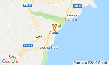 Mappa Avola Casa 118643