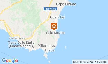 Mappa Villasimius Casa 116316