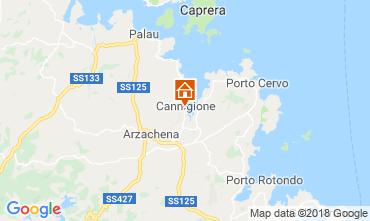 Mappa Arzachena Appartamento 117105